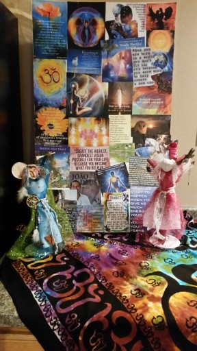 Spirit dolls vision board